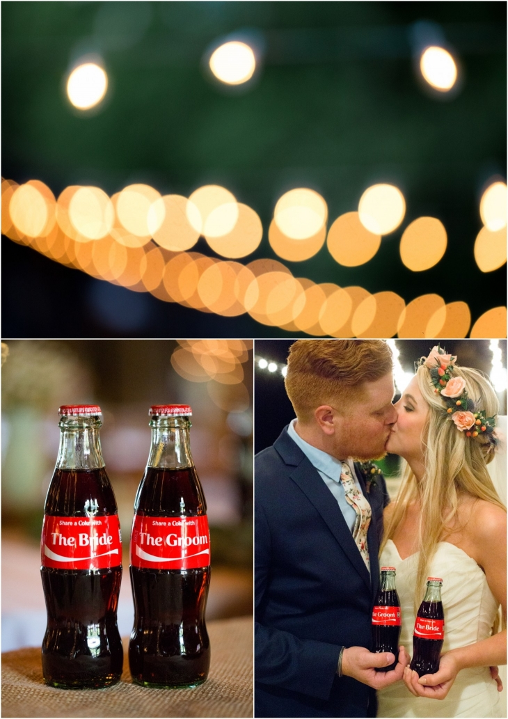 wedding cokes
