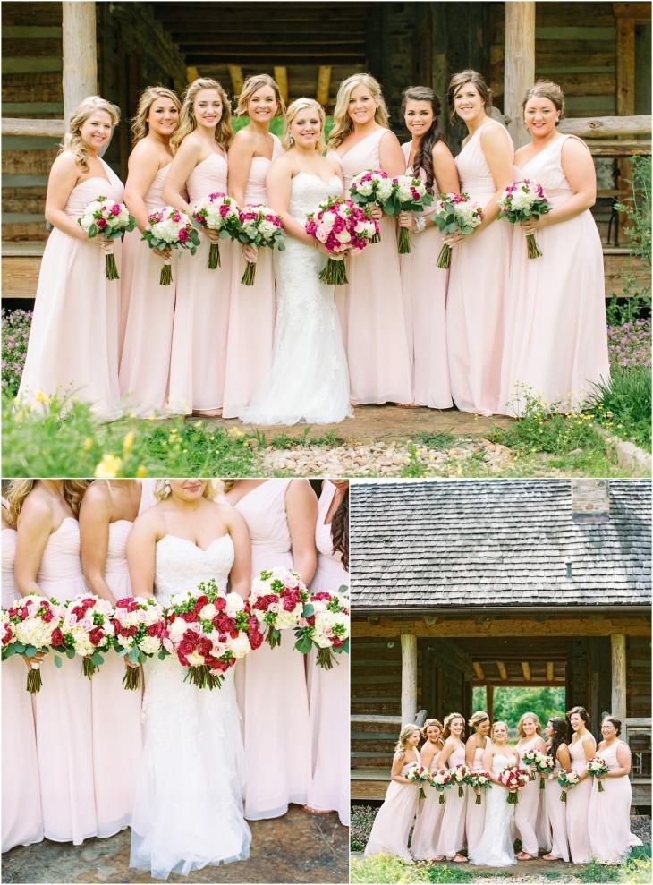 Pure Water Farm bridesmaids