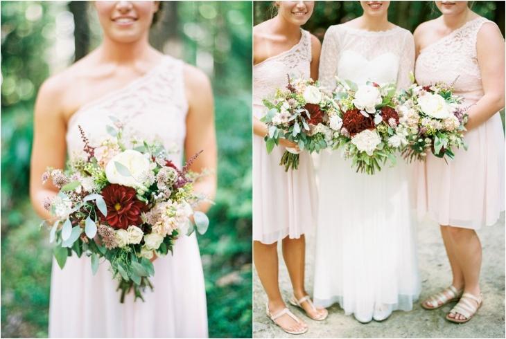 spence cabin wedding florist