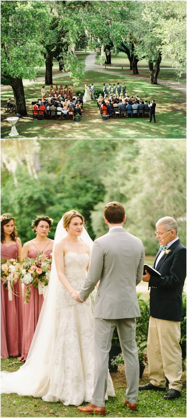 McLeod Plantation wedding photo