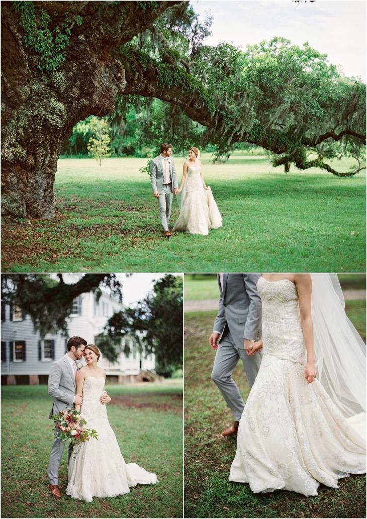 McLeod Plantation wedding pic