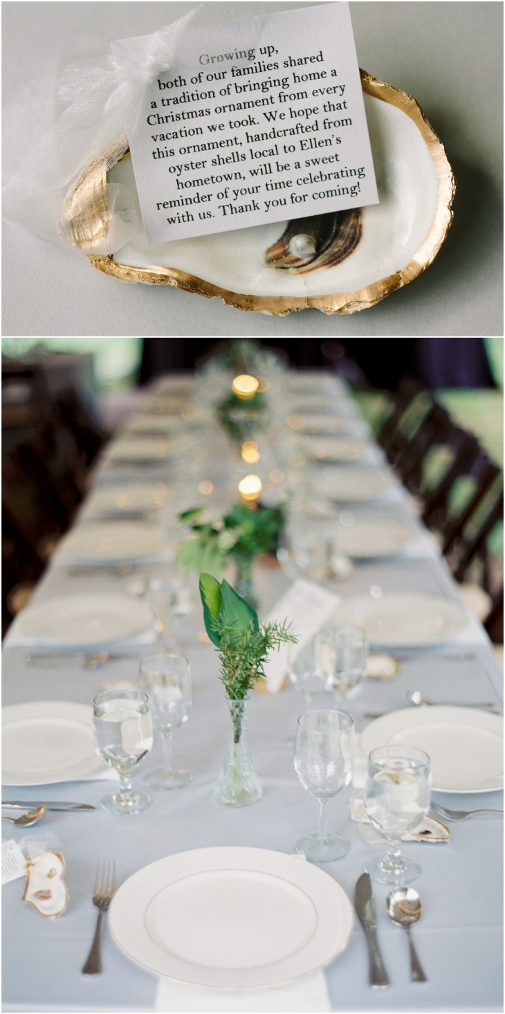 oyster wedding favors