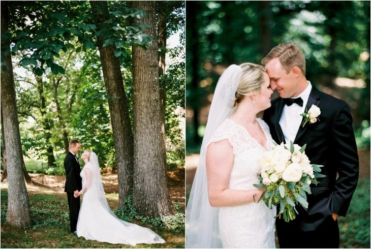 Fox den wedding photos