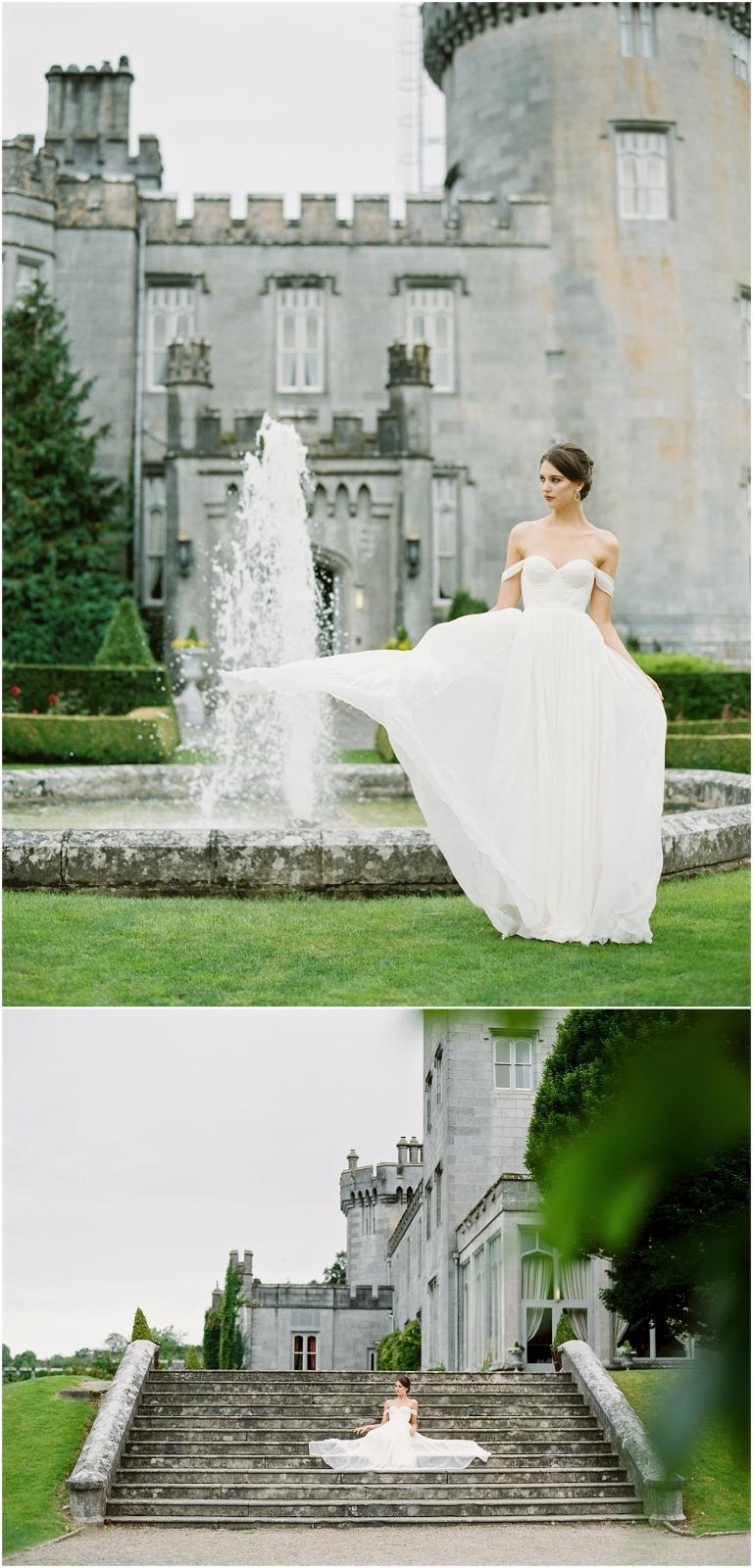 dromoland castle bride