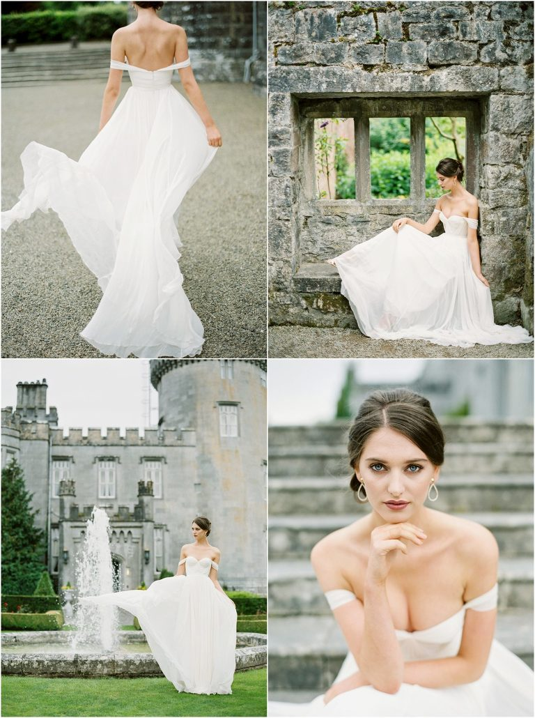 Dromoland Castle Bridal Photos
