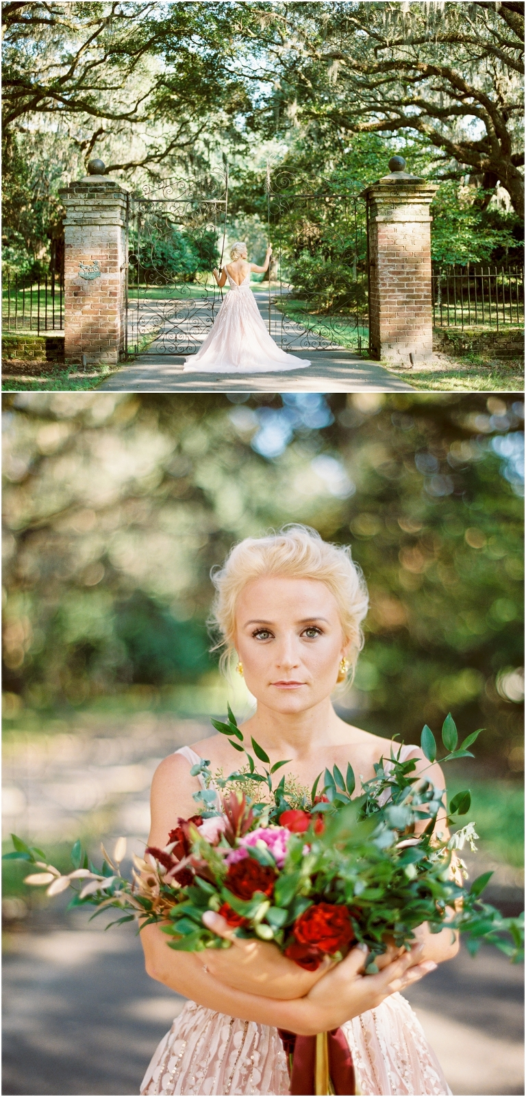 legare waring house bridal photos