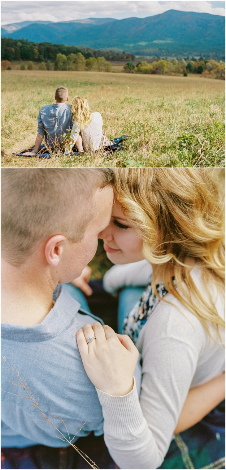 cades cove engagement photographers