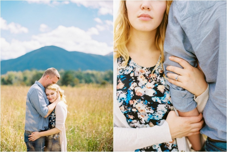 cades cove engagement photography