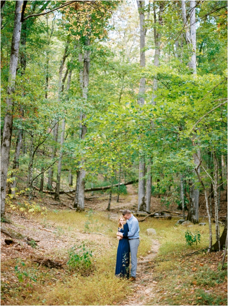 cades cove fall engagement pictures