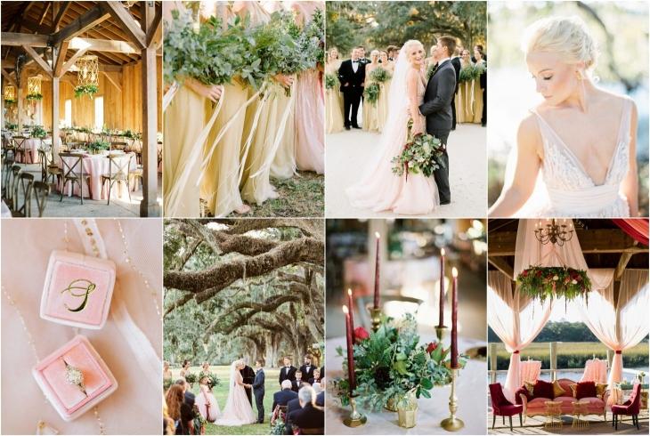 charleston wedding at boone hall plantation