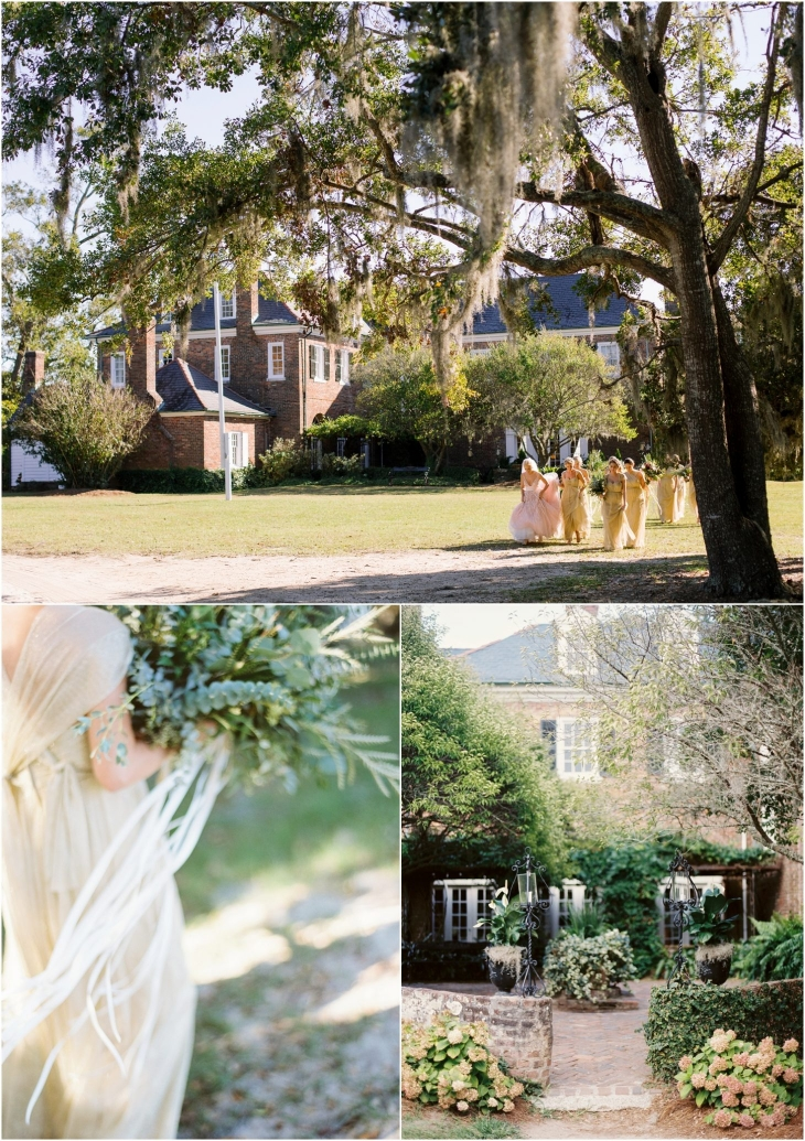 Boone Hall Plantation Bridesmaids