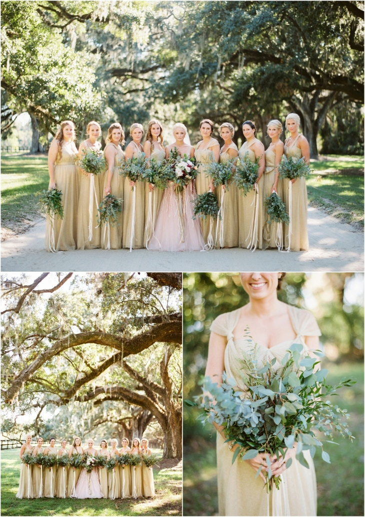 Boone Hall Plantation Wedding Photo
