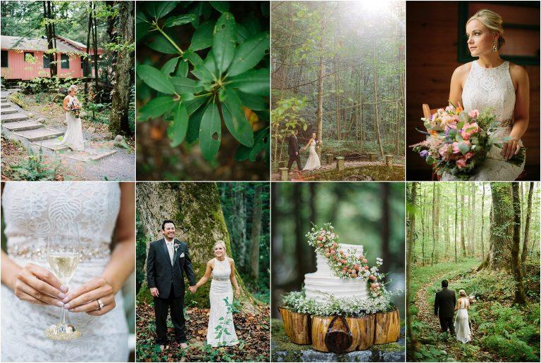 Spence Cabin Wedding by JoPhoto