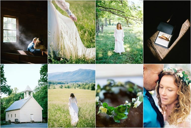 Cades Cove Wedding Tennessee
