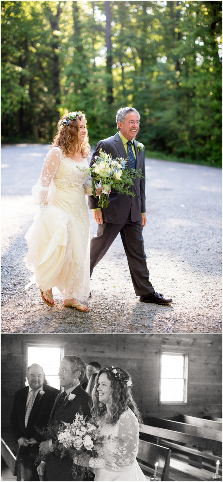 cades cove church wedding pictures