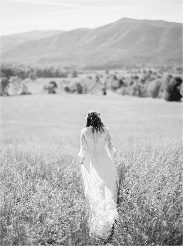 Cades Cove wedding photographer