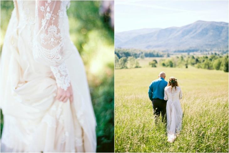Cades Cove wedding photos