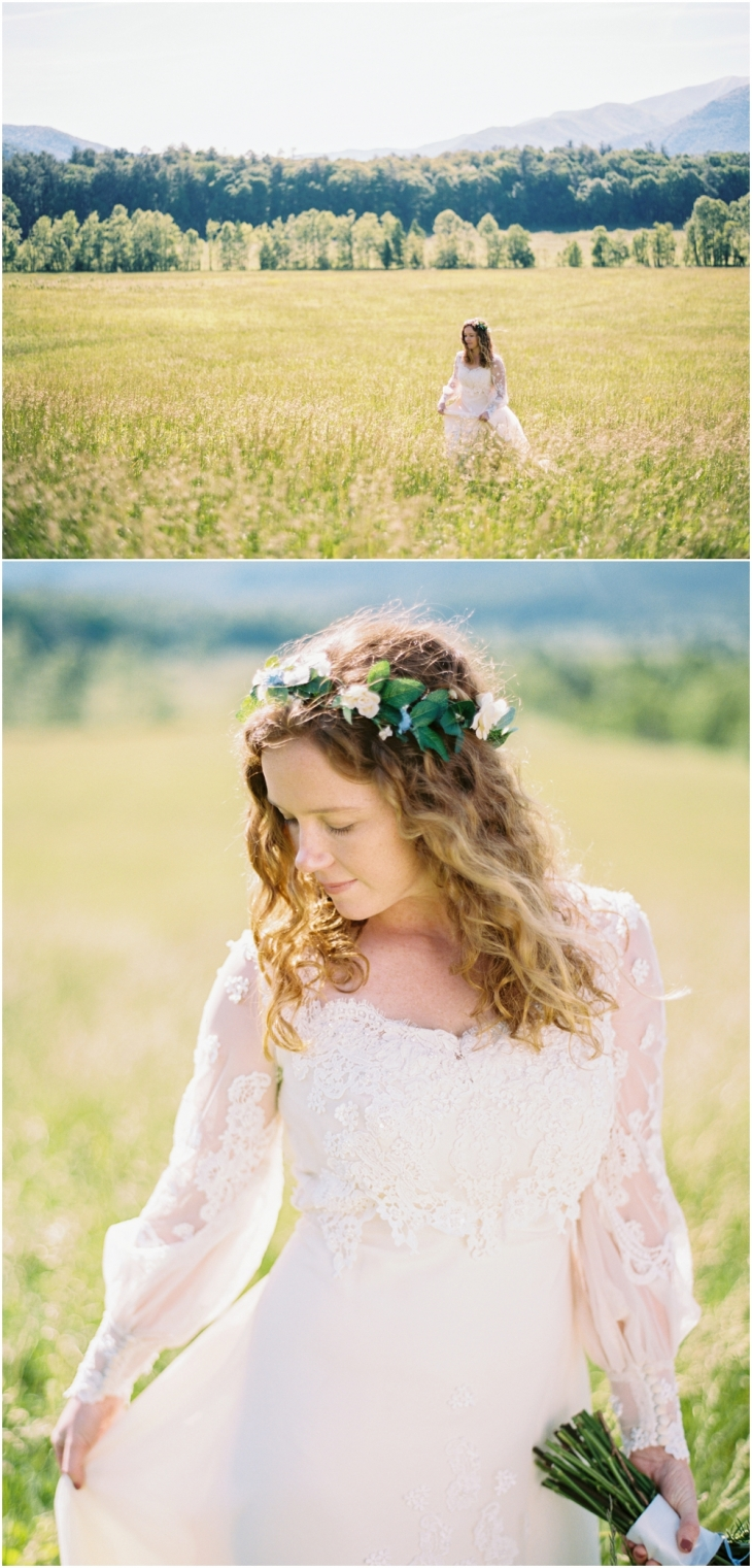cades cove wedding pictures