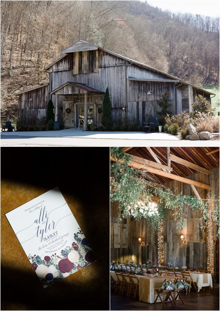 The Barn at Chestnut Springs Wedding