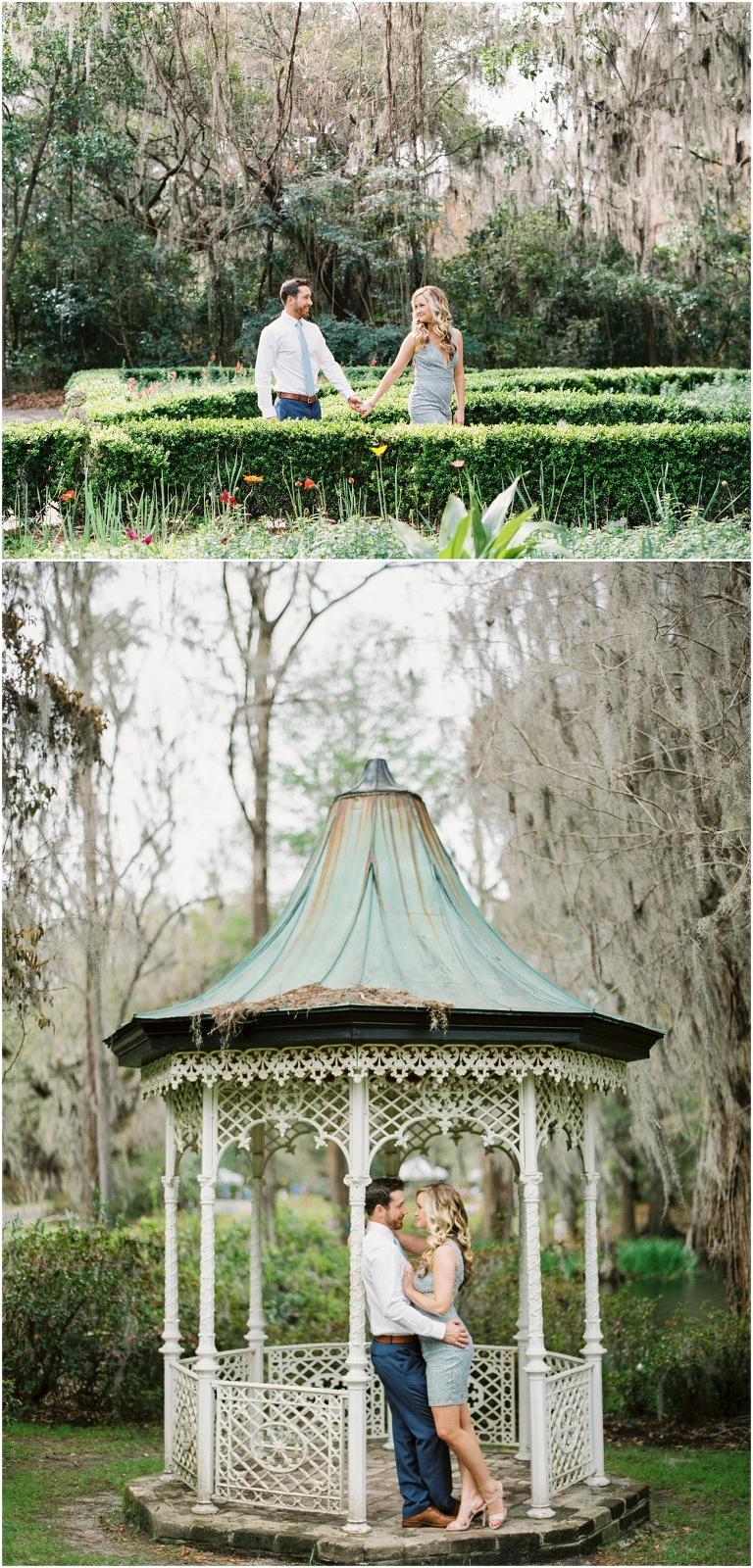 magnolia plantation engagement pictures