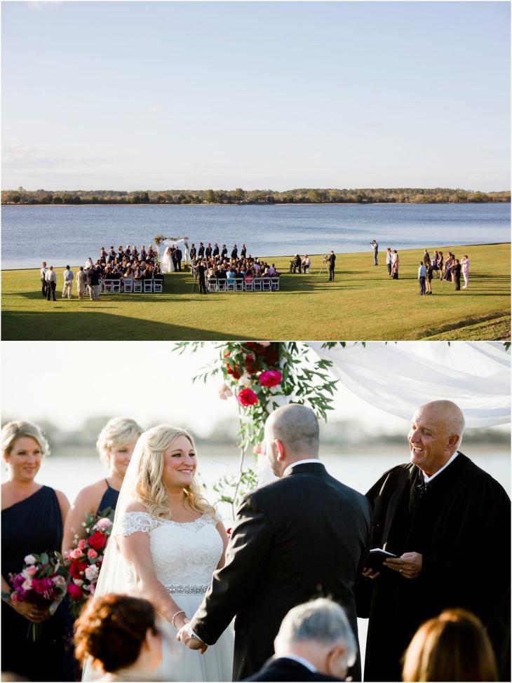 charleston island house wedding