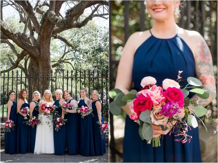 charleston weddings bridesmaids