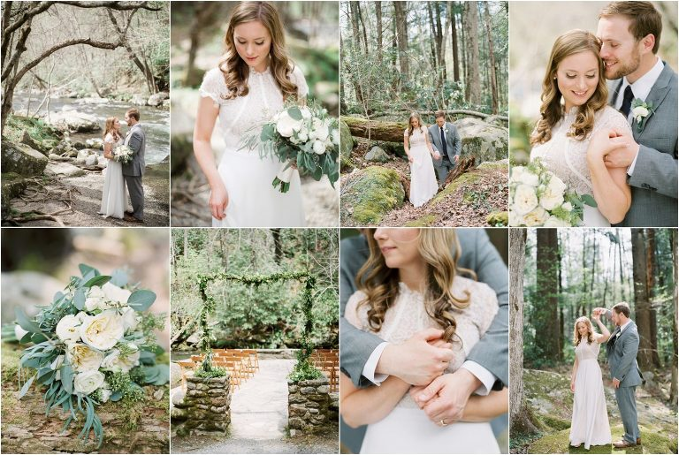 Spence Cabin Wedding in the Great Smoky Mountains National Park