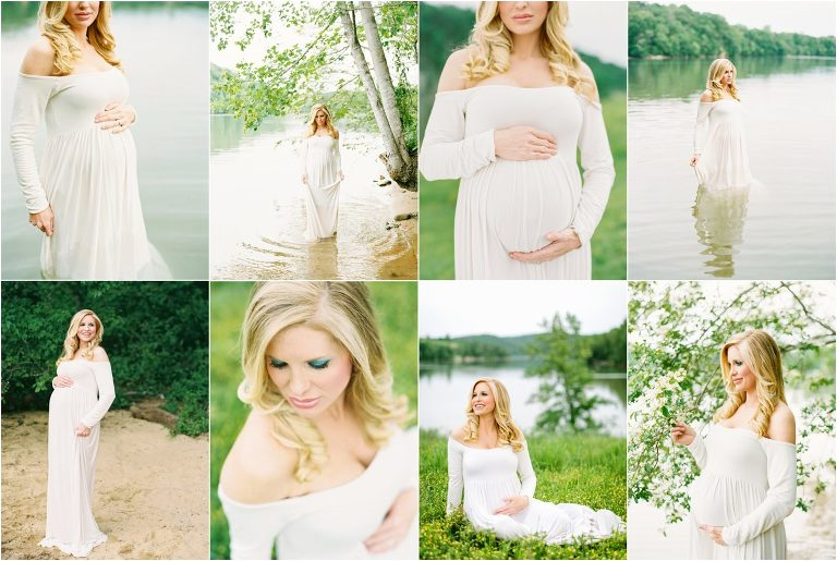 Knoxville lake maternity photos