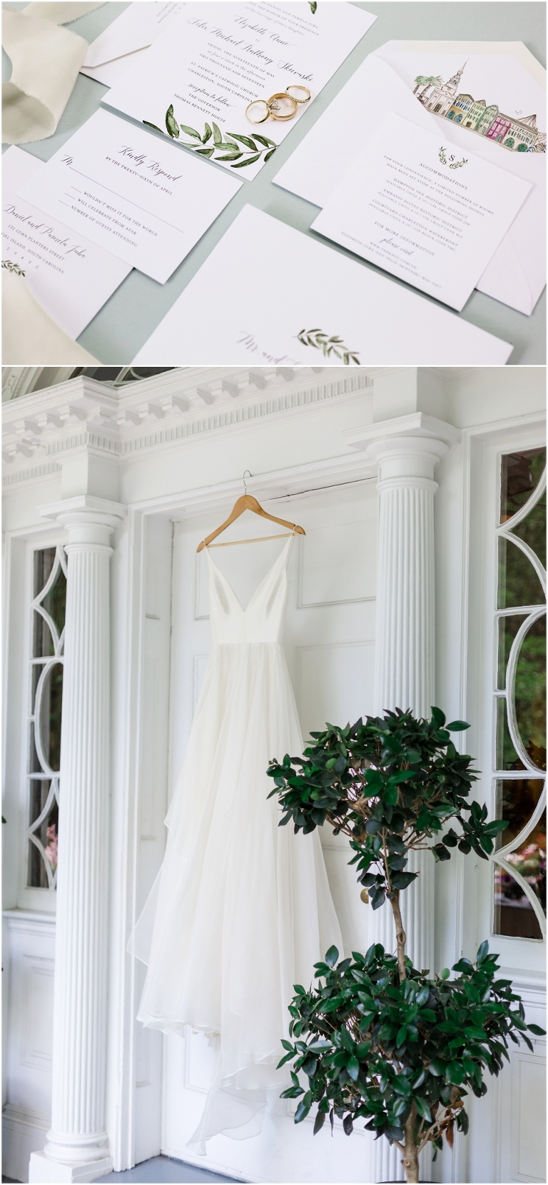 Thomas bennett house Wedding in Charleston