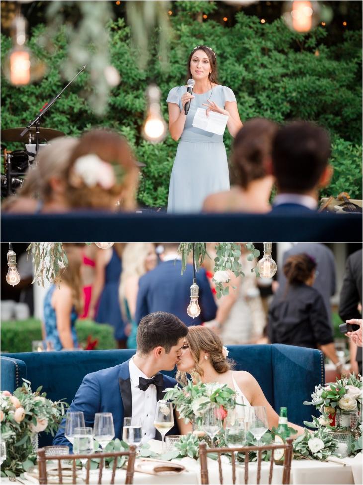 Thomas Bennett House wedding speeches