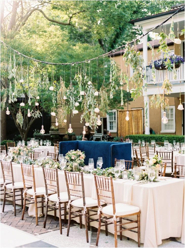 wedding decor in Charleston
