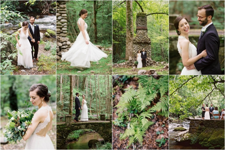 Great Smoky Mountains Wedding at Spence Cabin