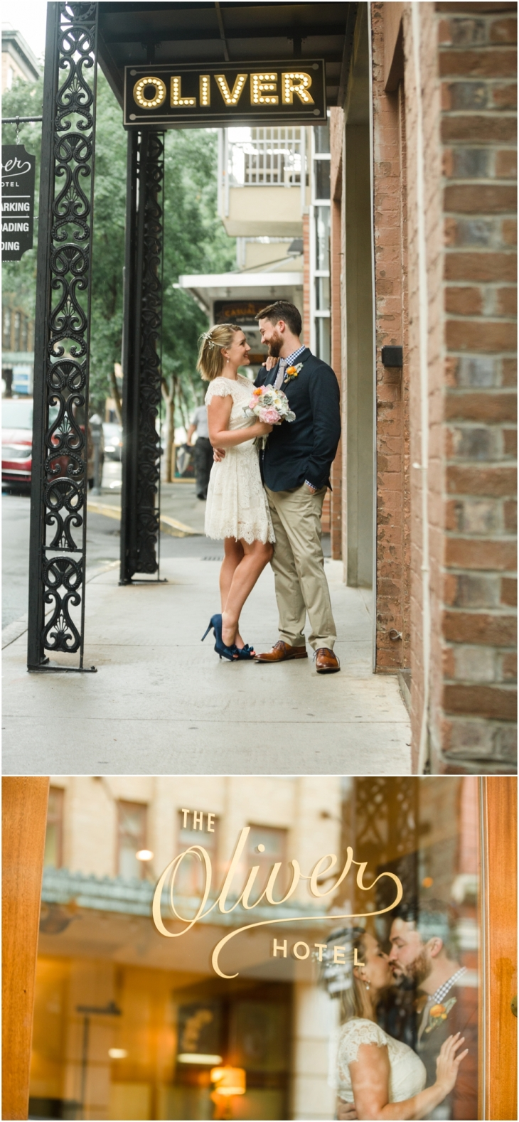 knoxville wedding at the oliver hotel