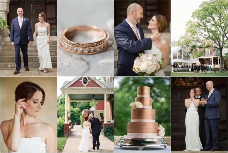 historic westwood wedding at knox heritage