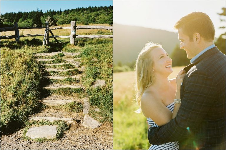 Roan Mountain Engagement Pics
