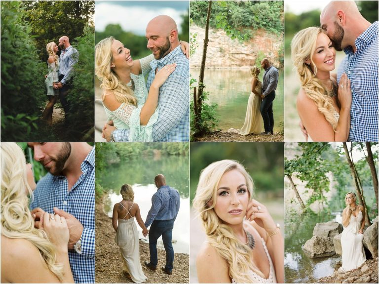 meads quarry engagement photography knoxville