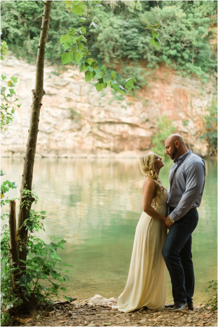 meads quarry engagement photos knoxville