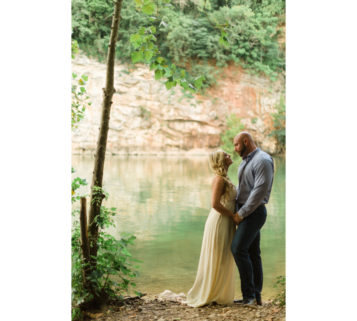 meads quarry knoxville engagement photos