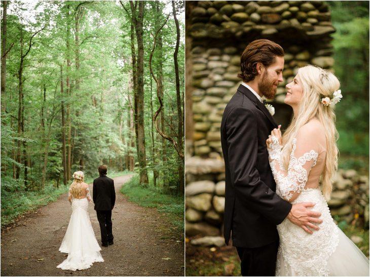smoky mountain wedding photography