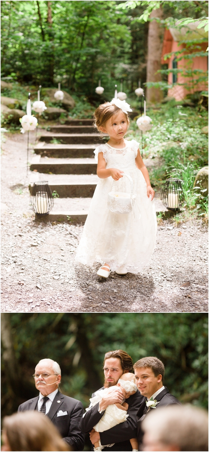 spence cabin wedding photos