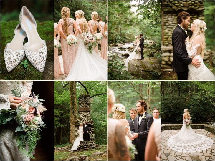 Wedding At The Great Smoky Mountains National Park
