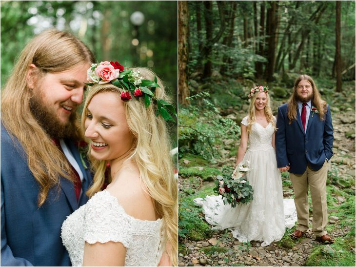 smoky mountain wedding picture