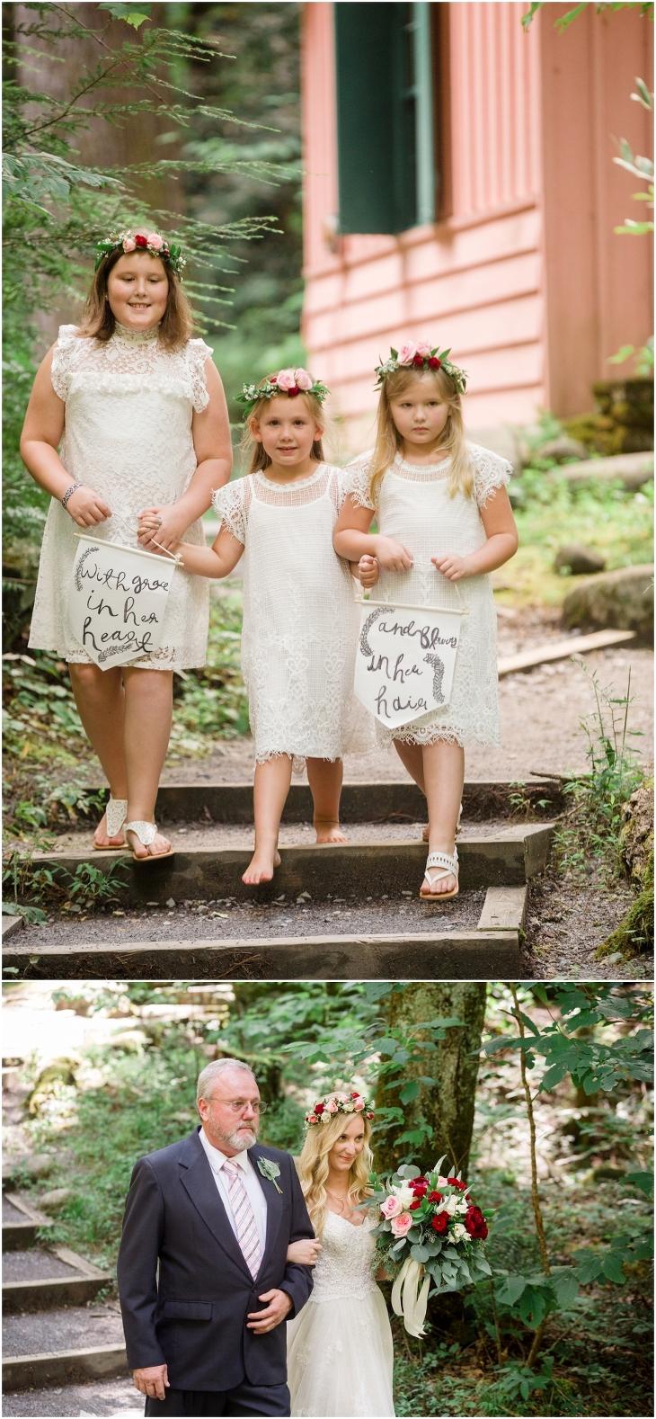 spence cabin wedding photographers