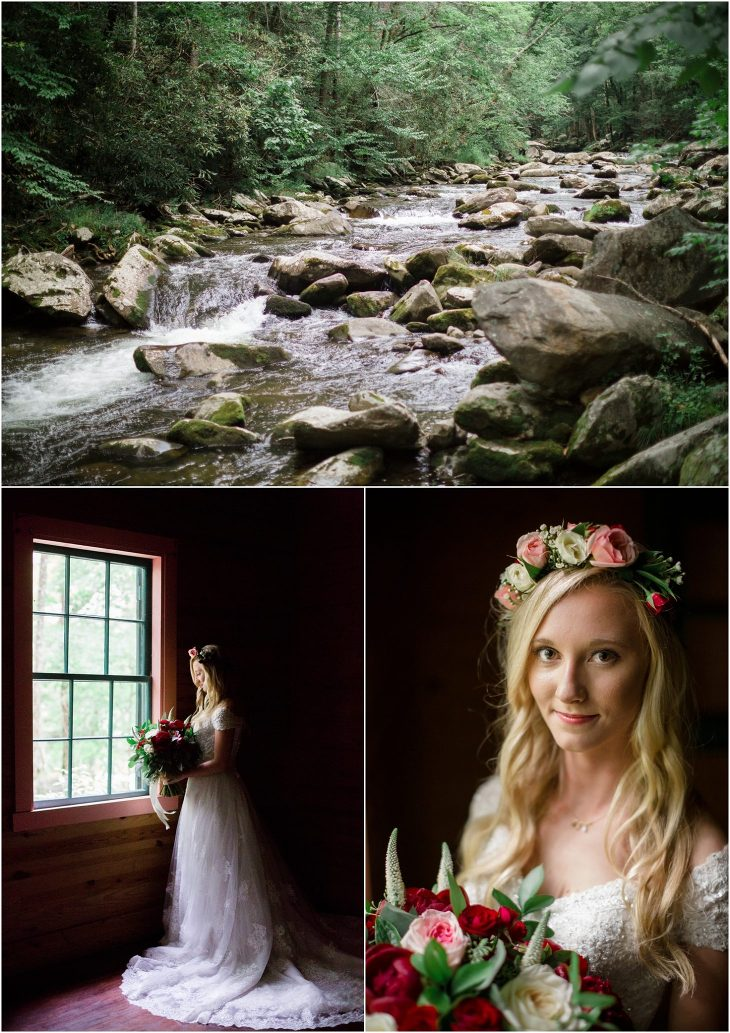 spence cabin wedding photography