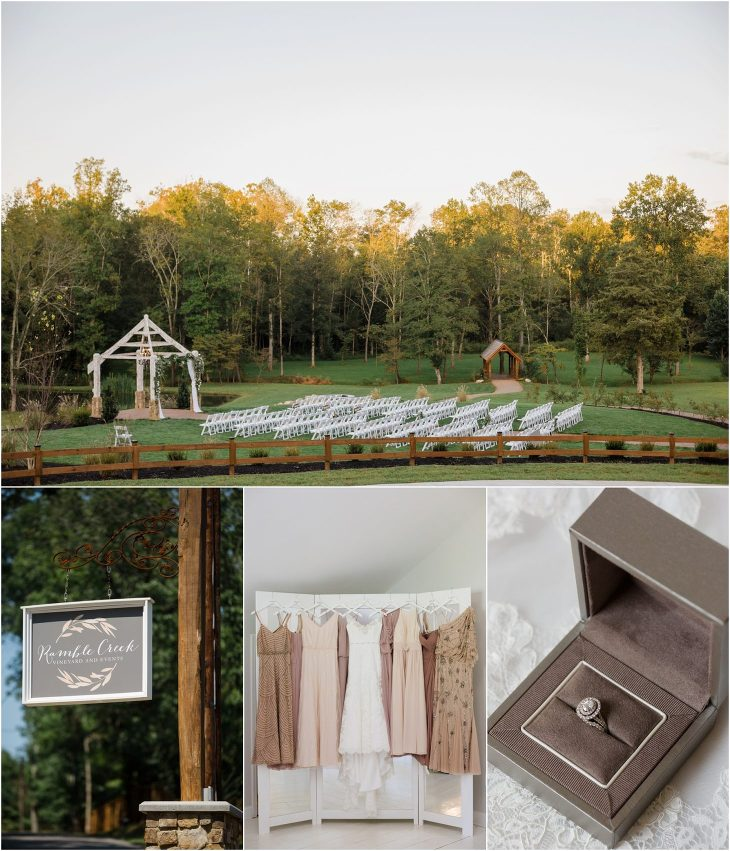 Knoxville wedding venue Ramble Creek