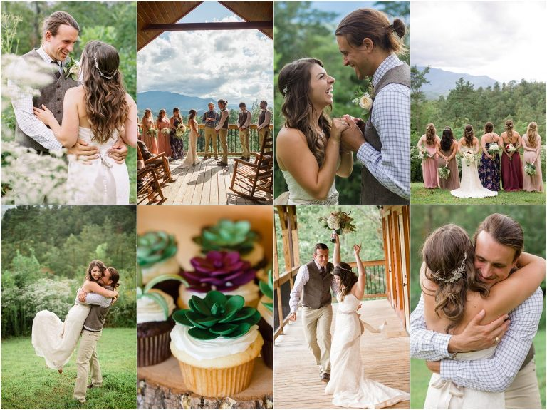 Smoky Mtn Wedding at Gatlinburg Mansion