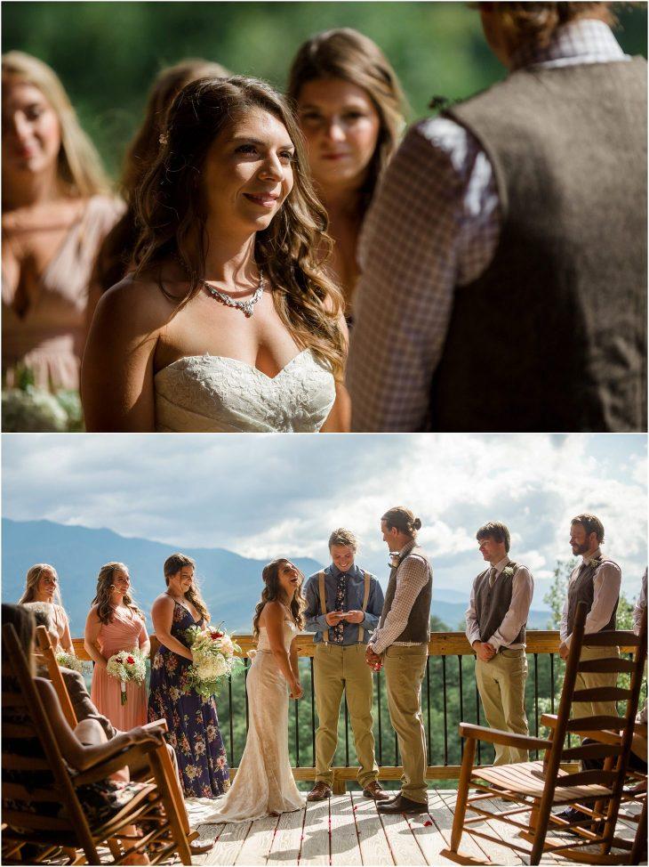 gatlinburg mansion wedding photographer