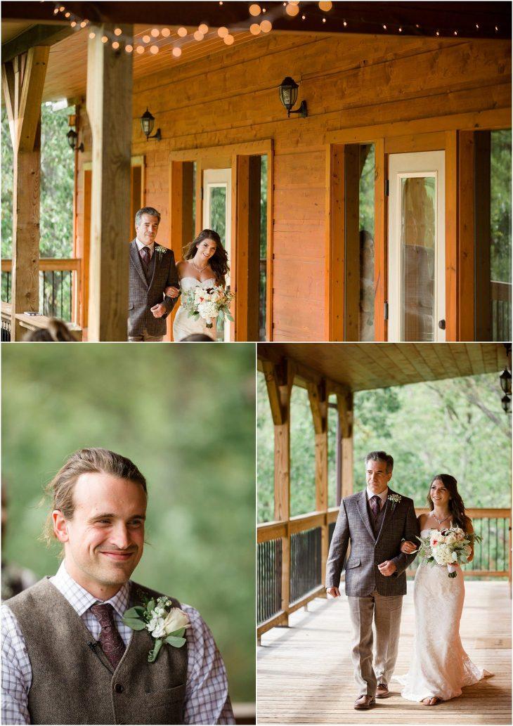 gatlinburg mansion wedding photos