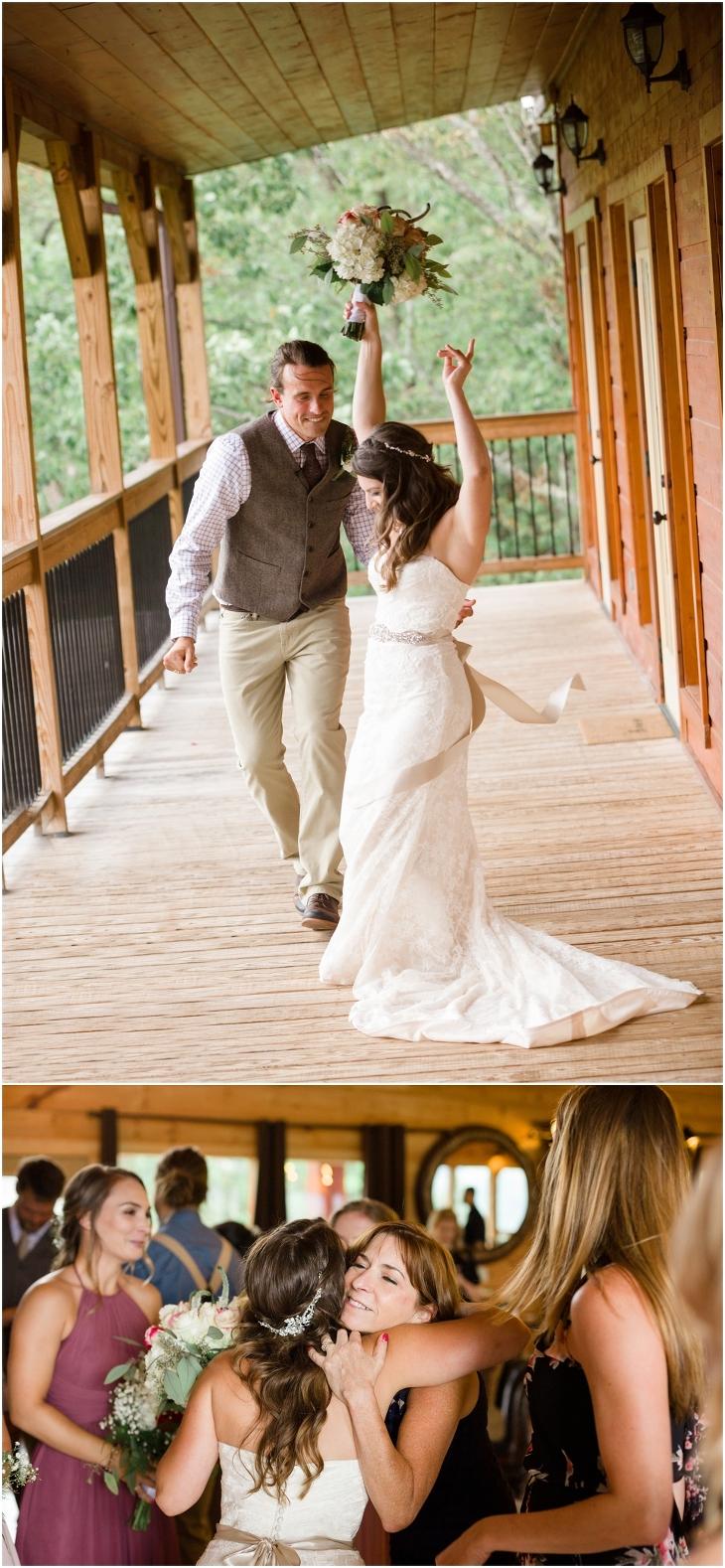 sevierville cabin wedding