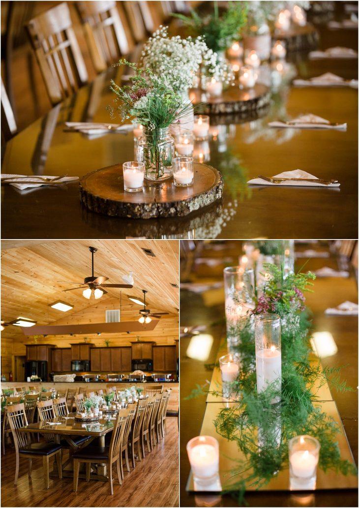 smoky mountain wedding decor